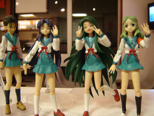 Four(?) hot figma girls