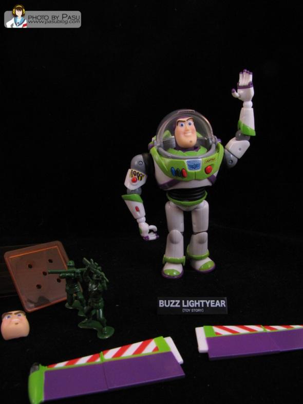Review: Revoltech SFX No. 11 – Buzz Lightyear | Pasu Blog